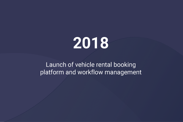Vehicle rental booking platform